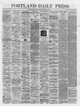 Portland Daily Press: March 19,1866