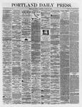 Portland Daily Press: March 20,1866