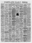 Portland Daily Press: March 21,1866