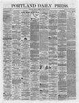 Portland Daily Press: March 23,1866