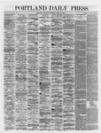 Portland Daily Press: April 19,1866