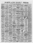 Portland Daily Press: April 20,1866