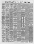 Portland Daily Press:  April 23,1866