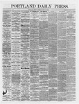 Portland Daily Press:  April 26,1866