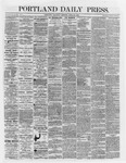 Portland Daily Press: April 28,1866