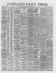 Portland Daily Press: April 30,1866