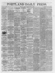 Portland Daily Press: May 25,1866