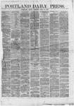 Portland Daily Press: July 13,1866