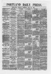 Portland Daily Press:  July 24,1866