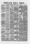 Portland Daily Press: July 25,1866