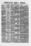 Portland Daily Press:  July 28,1866