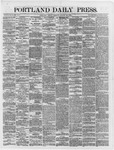 Portland Daily Press: August 10,1866