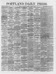 Portland Daily Press:  August 11,1866