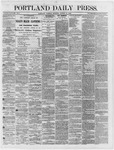 Portland Daily Press: August 14,1866