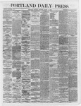 Portland Daily Press:  August 18,1866