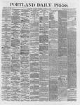 Portland Daily Press:  August 25,1866
