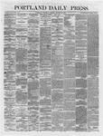 Portland Daily Press:  August 30,1866