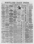 Portland Daily Press: September 11,1866