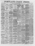 Portland Daily Press:  September 14,1866