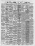 Portland Daily Press:  September 18,1866