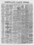 Portland Daily Press: October 11,1866