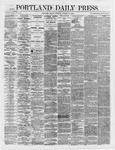 Portland Daily Press:  October 12,1866