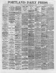 Portland Daily Press:  October 13,1866