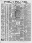 Portland Daily Press: October 29,1866