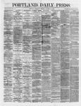 Portland Daily Press:  October 31,1866