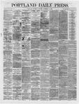 Portland Daily Press: November 10,1866