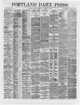 Portland Daily Press: November 12,1866