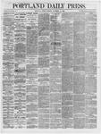 Portland Daily Press: November 16,1866