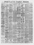 Portland Daily Press: November 20,1866