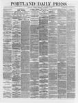 Portland Daily Press: November 29,1866