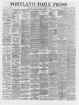 Portland Daily Press: December 07,1866