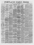 Portland Daily Press: December 08,1866