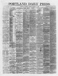 Portland Daily Press: December 12,1866