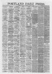 Portland Daily Press: January 22,1867