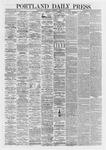 Portland Daily Press: February 27,1867