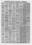 Portland Daily Press: January 30,1867