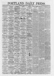Portland Daily Press: March 11,1867