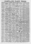 Portland Daily Press: March 16,1867