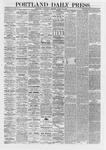 Portland Daily Press: March 20,1867