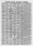 Portland Daily Press: March 28,1867