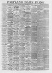 Portland Daily Press: April 11,1867