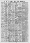 Portland Daily Press: April 15,1867