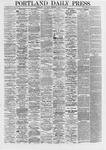 Portland Daily Press: April 20,1867