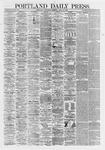 Portland Daily Press: April 24,1867