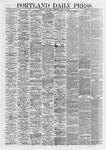 Portland Daily Press:  April 25,1867