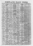 Portland Daily Press: April 29,1867